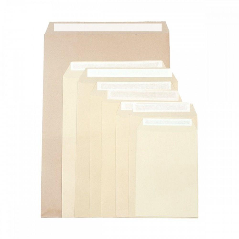 מעטפות חומות עם פס הדבקה 15*10 ס