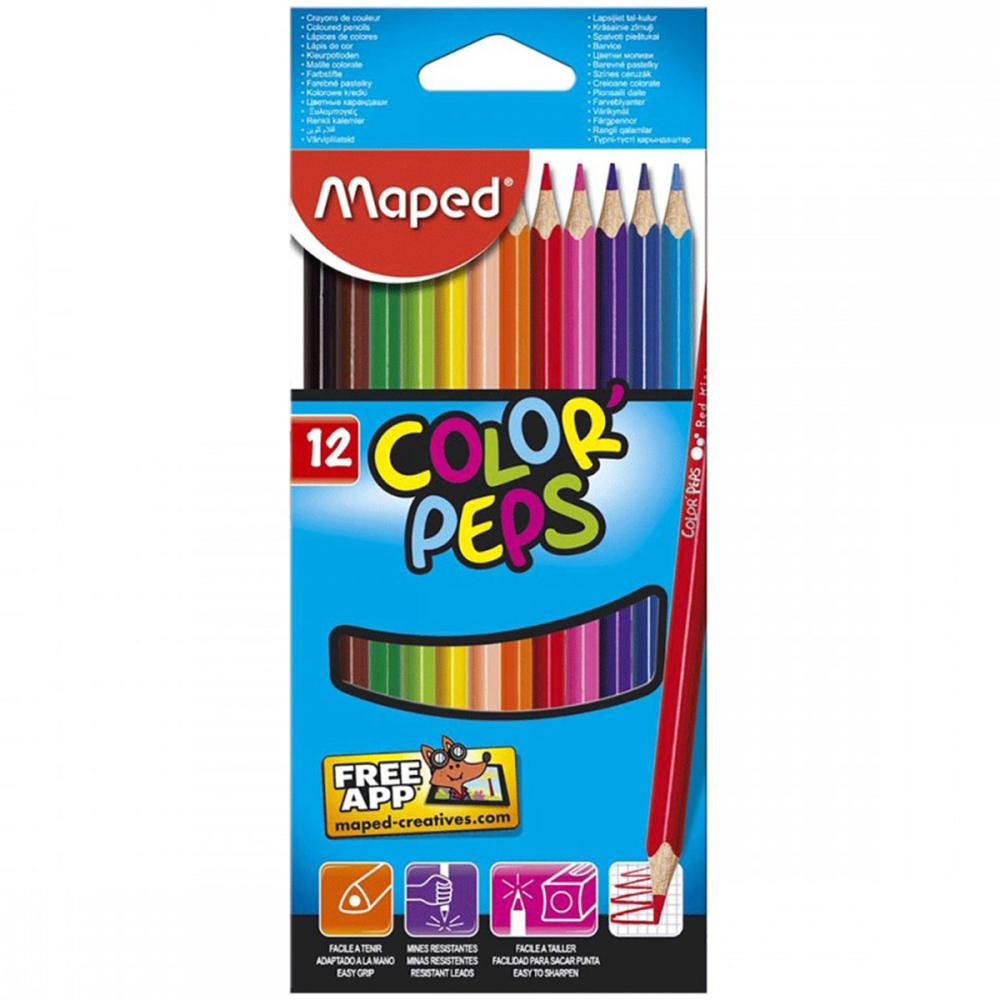סט צבעי עפרון ארגונומים COLOR'PEPS