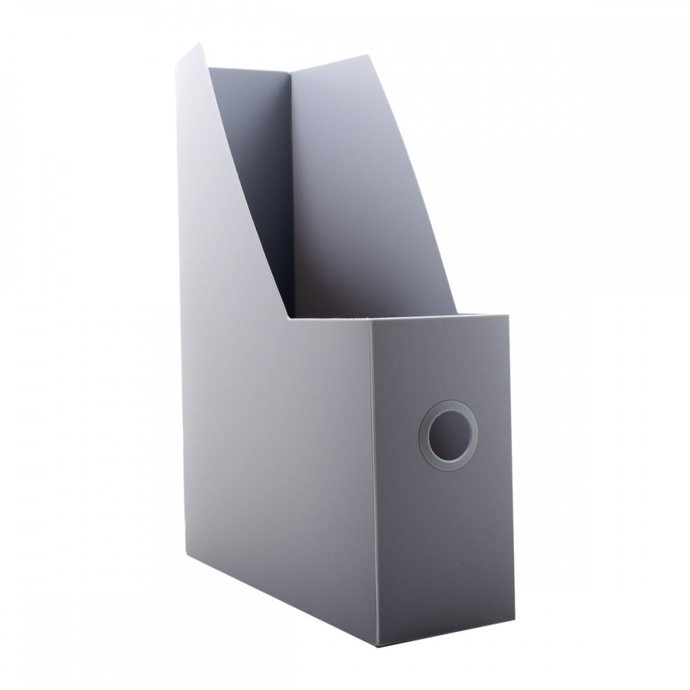 קופסת קטלוג מפל אפור
