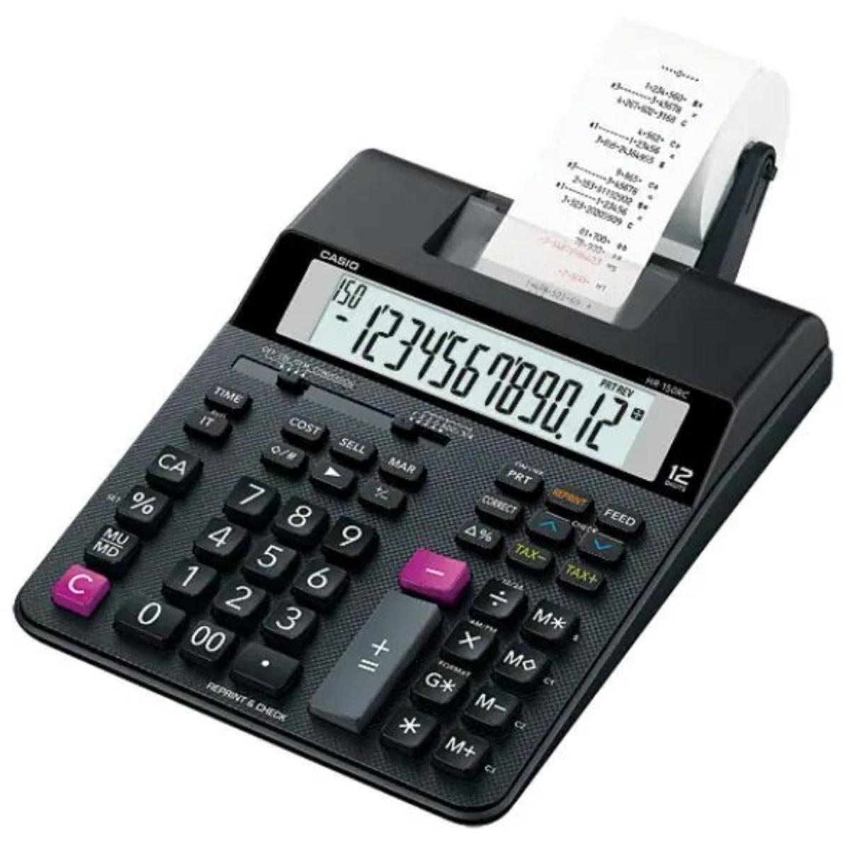 מכונת חישוב Casio OF HR-150TM