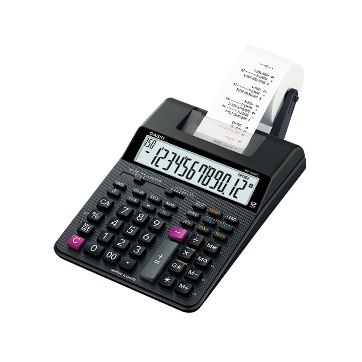 מכונת חישוב Casio OF HR-100TM