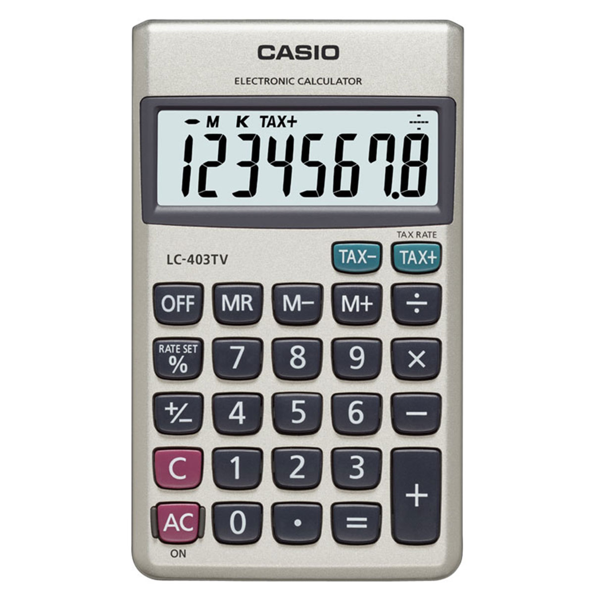 מחשבון כיס Casio LC-403C