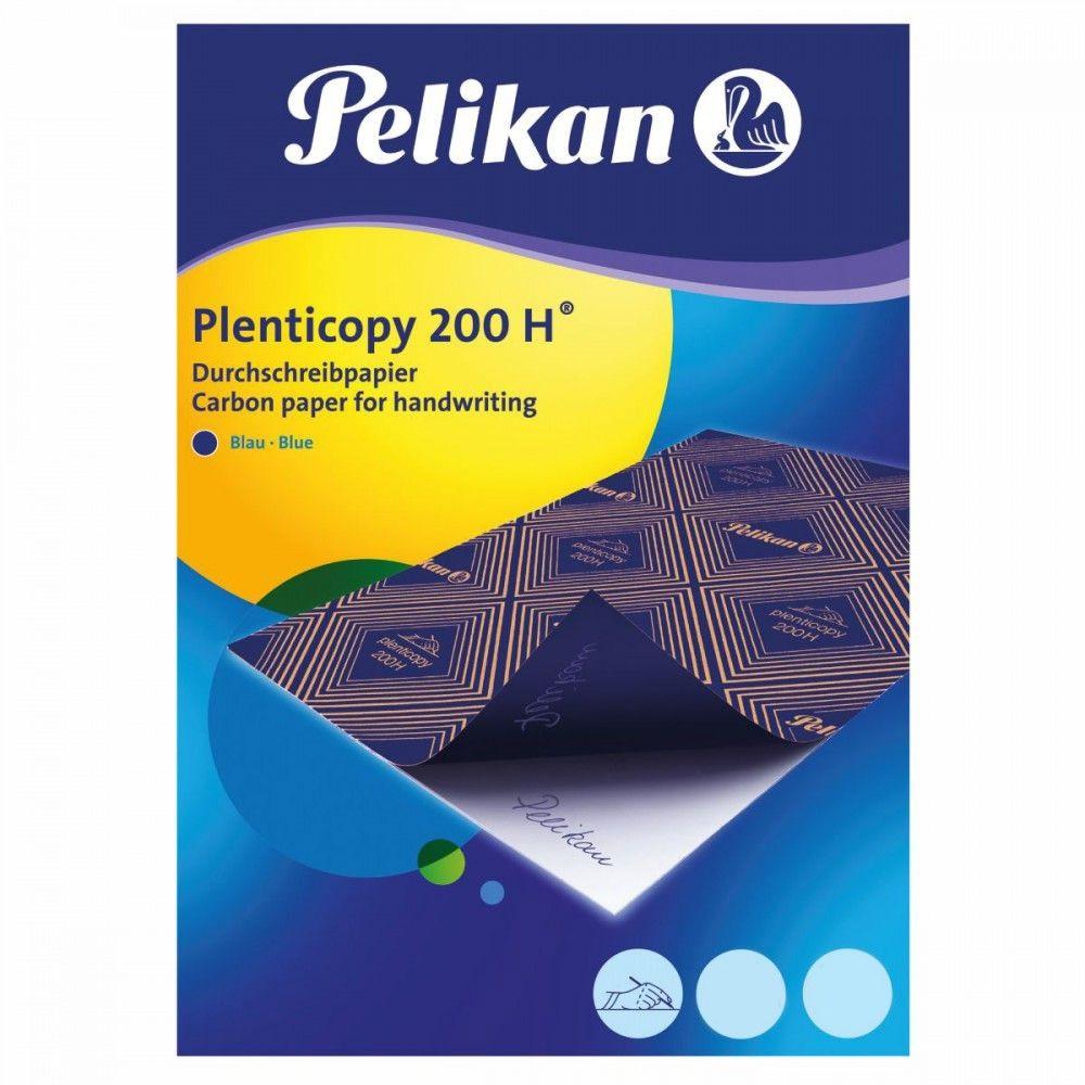 נייר פחם העתקה כחול Pelikan