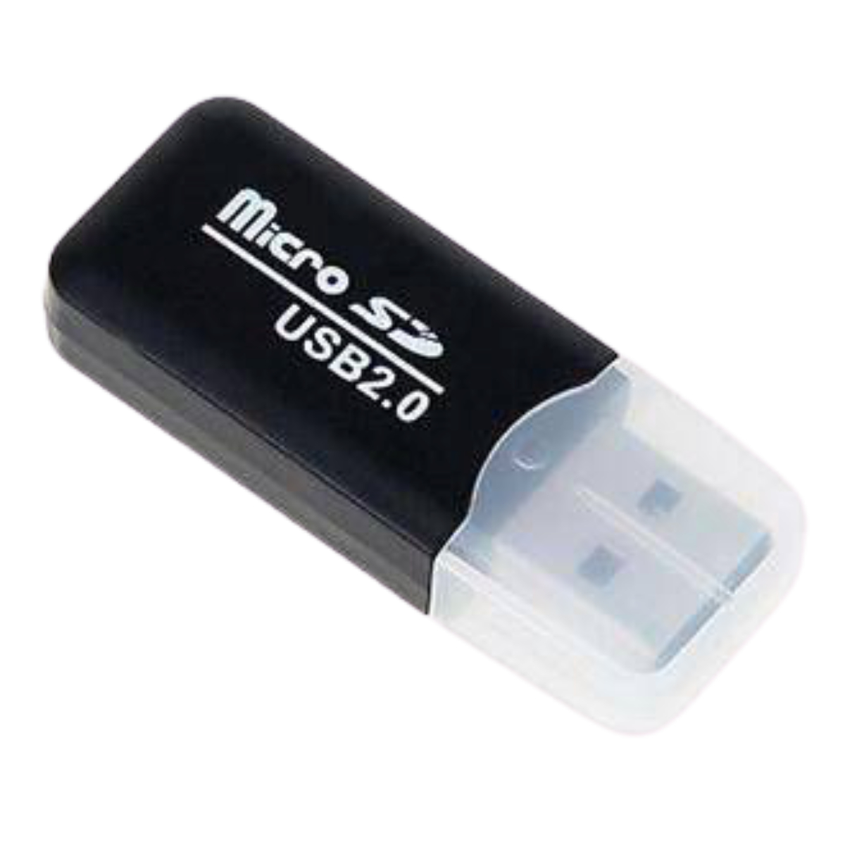קורא כרטיסיםSILVER LINE SD-HC/MICRO SD-887 שחור