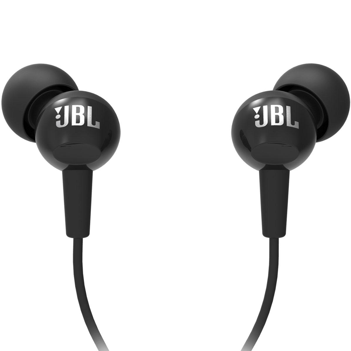אוזניות IN EAR עם מיקרופון JBL C100SI שחור