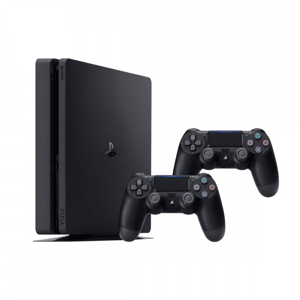 קונסולה SLIM 1TB PS4 עם זוג בקרים