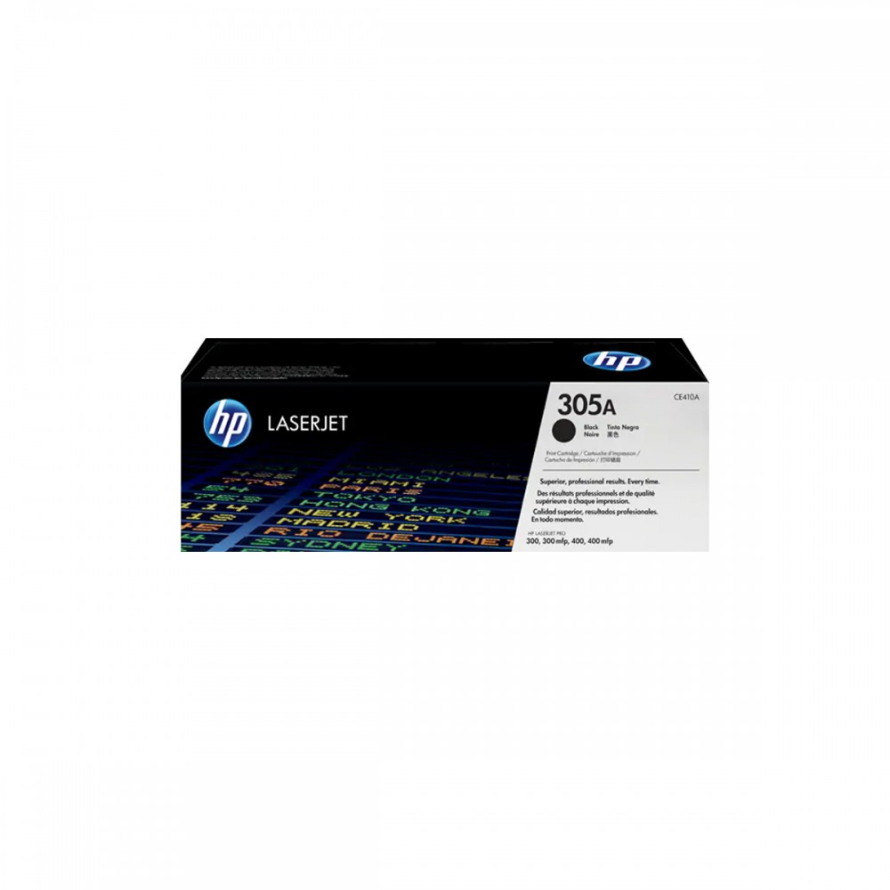 טונר לייזר HP-CE410A שחור מקורי M451/M475/M351/M375