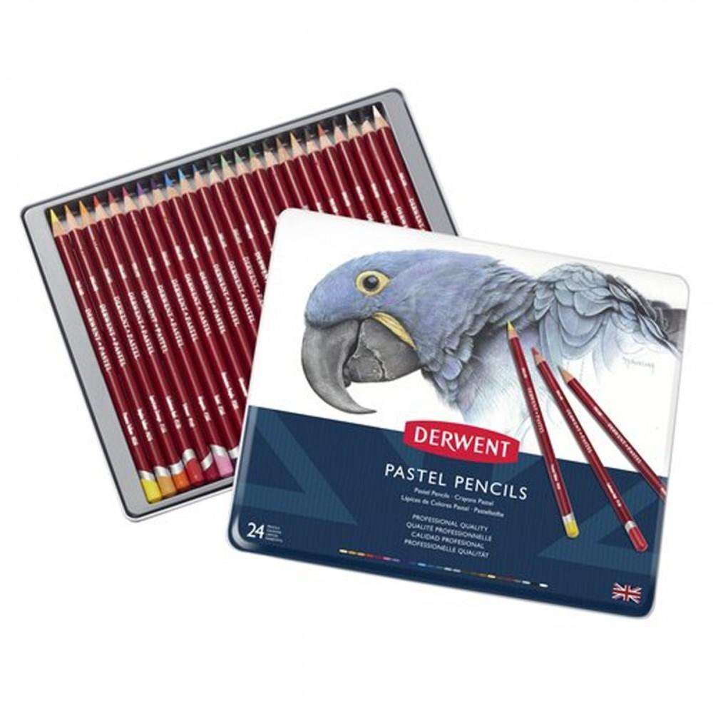 24 עפרונות Derwent Pastel