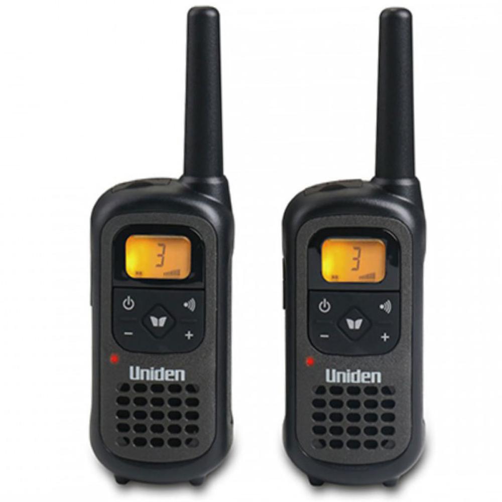 זוג מכשירי קשר Uniden 8 ערוצים עם סוללות נטענות PMR-1207