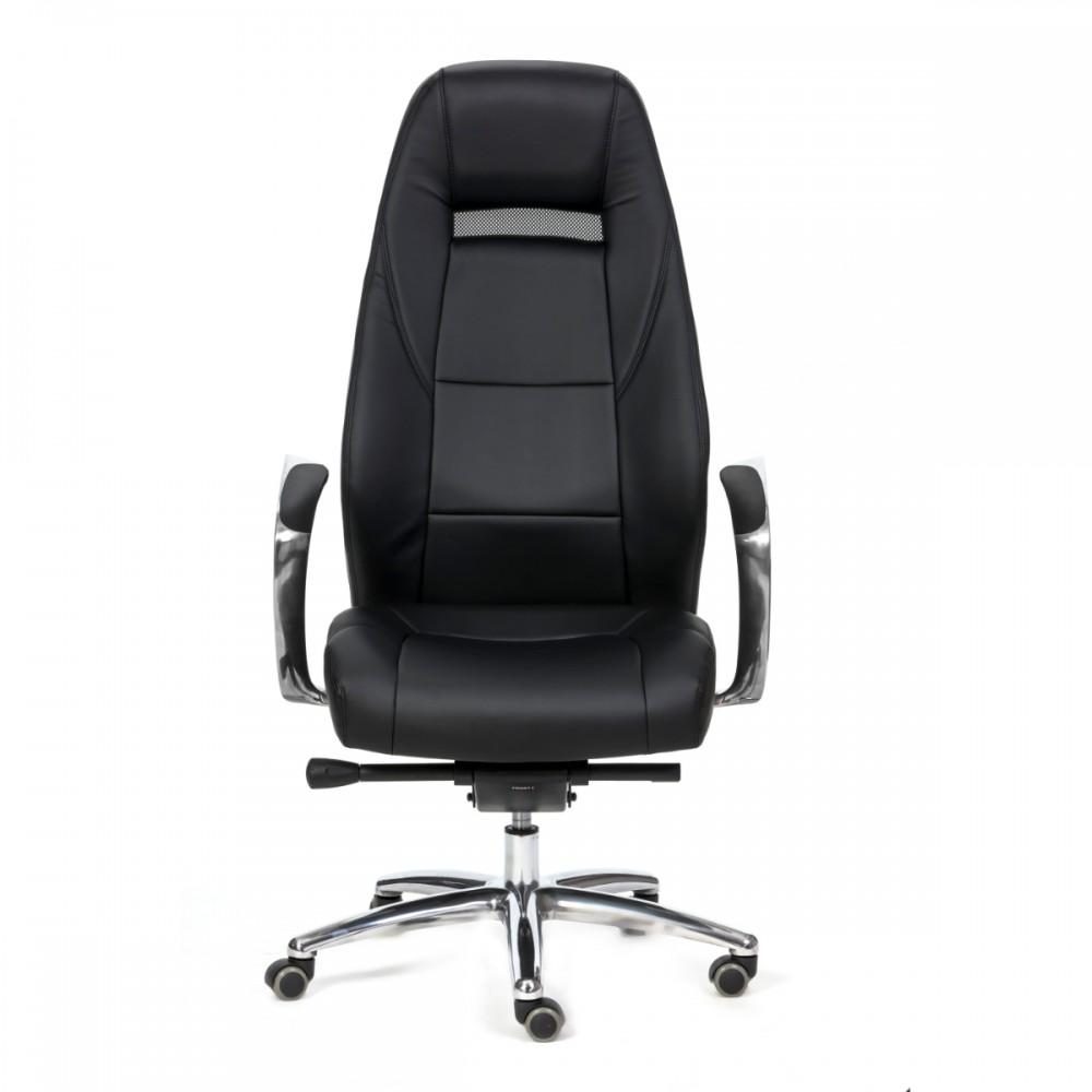 כיסא מנהל ג'מני דמוי עור שחור