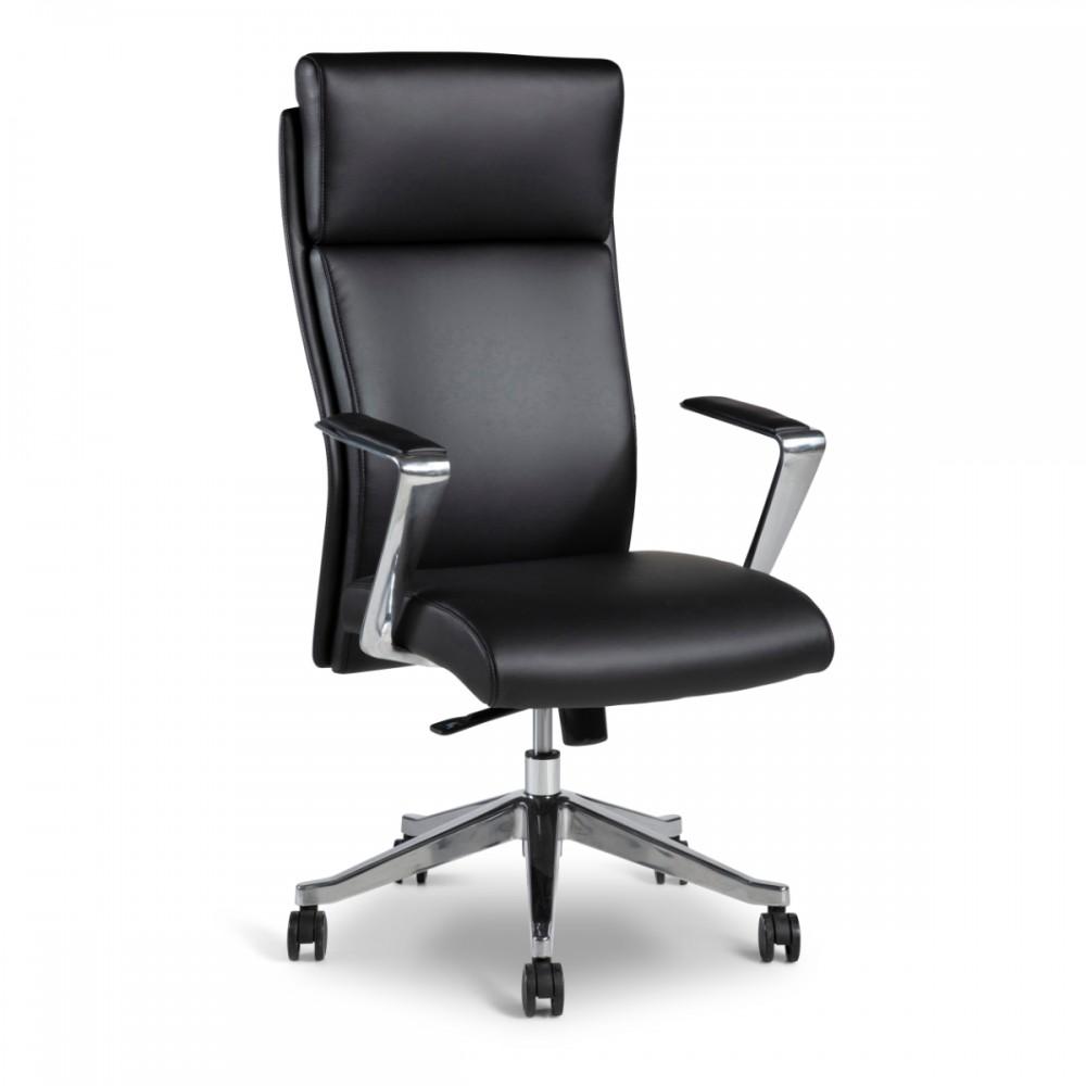 כיסא מנהל בוס דמוי עור שחור