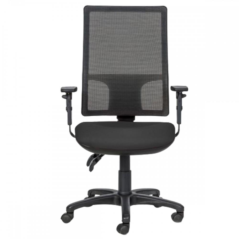 כיסא מחשב גב רשת שחור דגם ספרינט