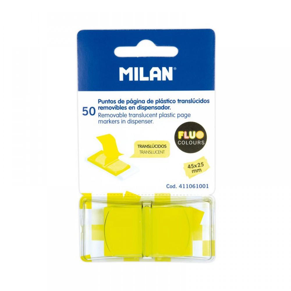 דגלונים צהובים דביקים Milan