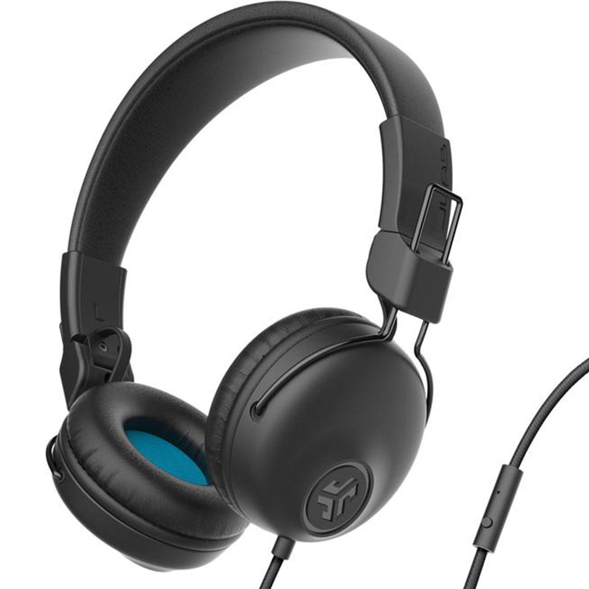 אוזניות חוטיות JLab Studio On Ear שחור