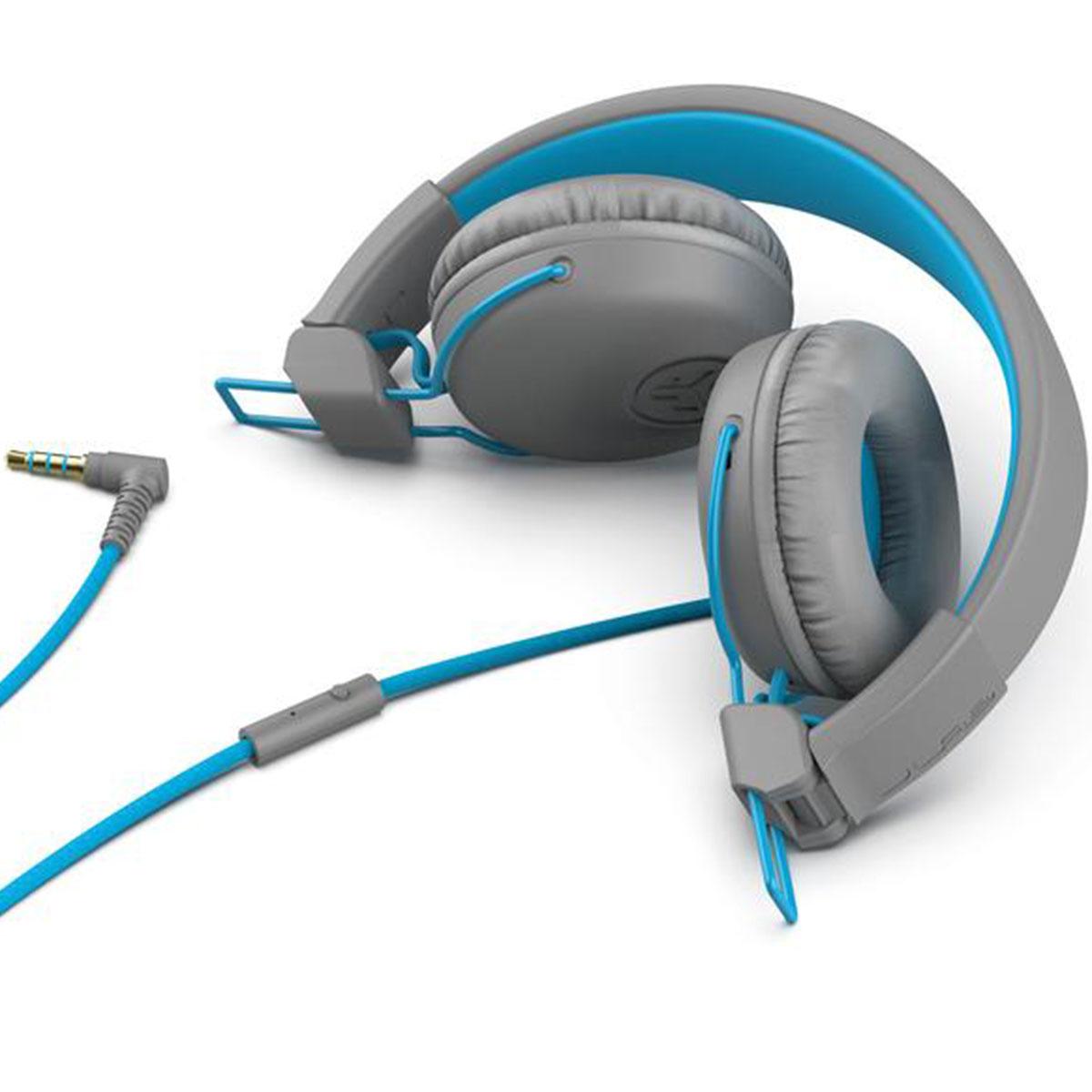 אוזניות חוטיות JLab Studio On Ear כחול