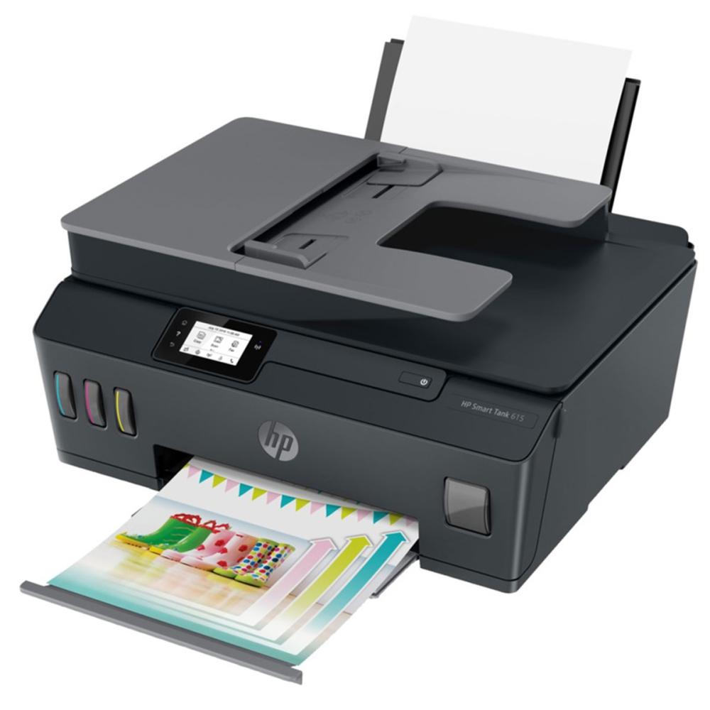 מדפסת דיו משולבת צבע HP Smart Tank 615 AIO