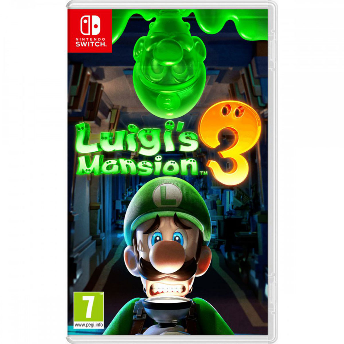 משחק לנינטנדו: 3 Luigi's Mansion