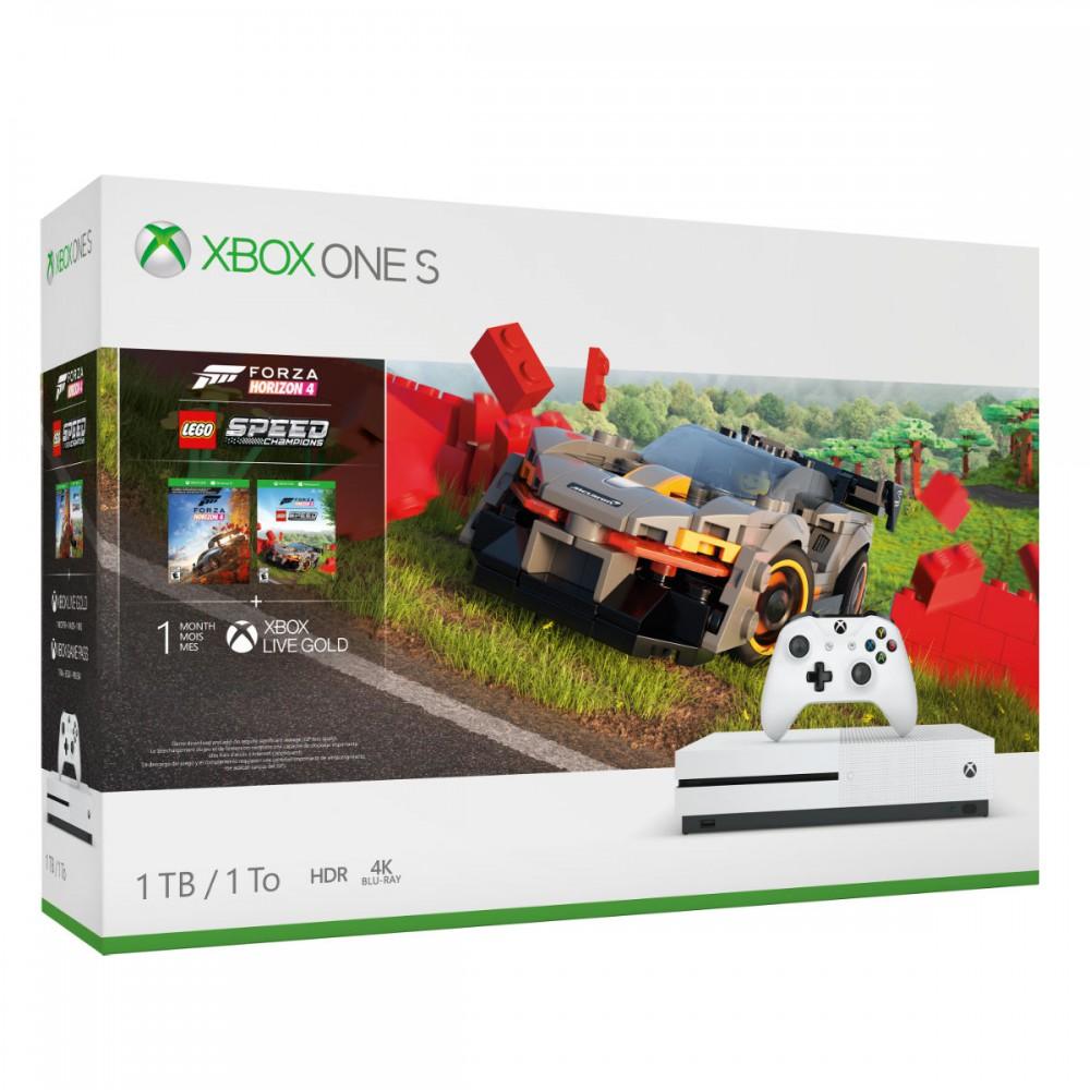 קונסולה Xbox One S 1TB F.Horizon 4 + LEGO Speed