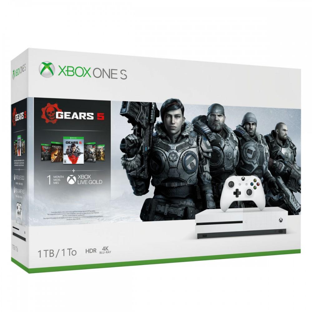 באנדל קונסולה Xbox One S 1TB Gears 5