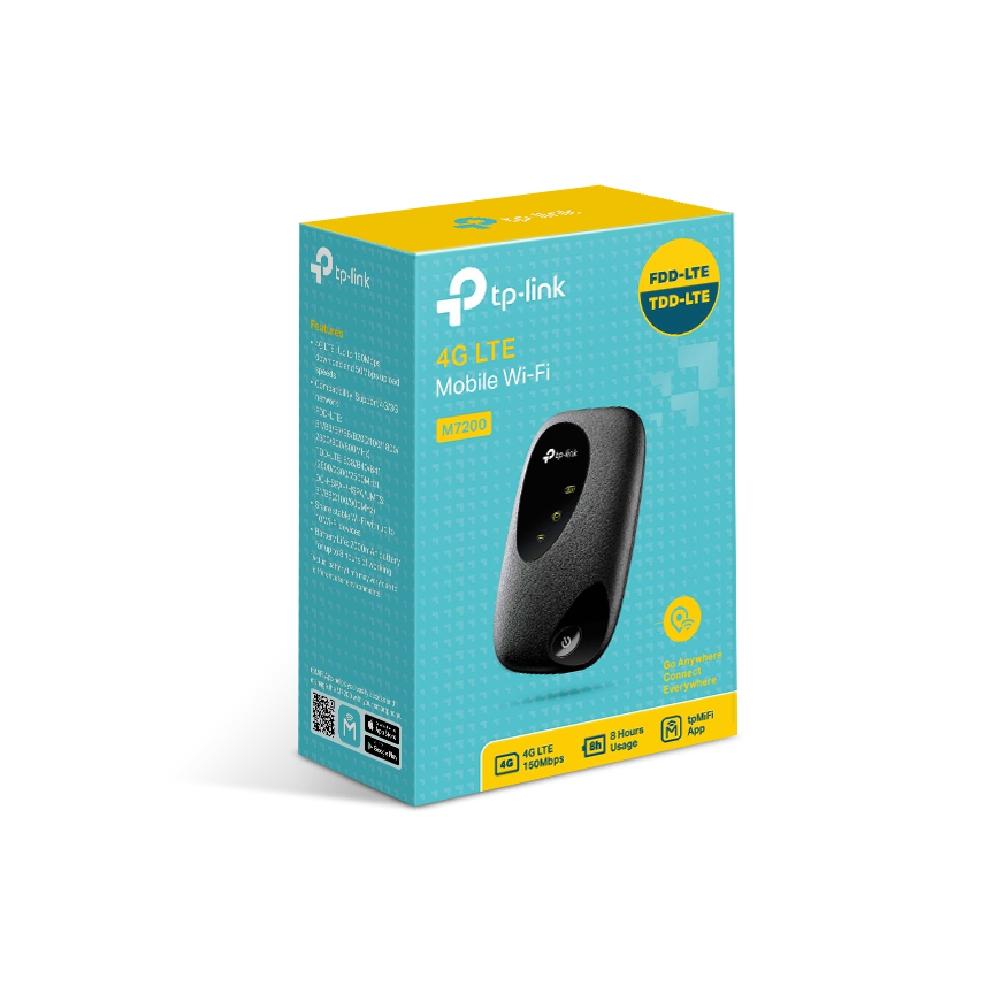 ראוטר סלולרי TP-LINK M7200 150 4G LTE