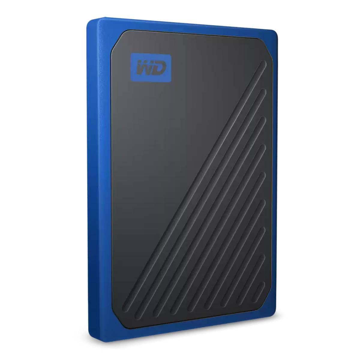 כונן קשיח WD SSD My Passport Go 500G Black/Cobalt