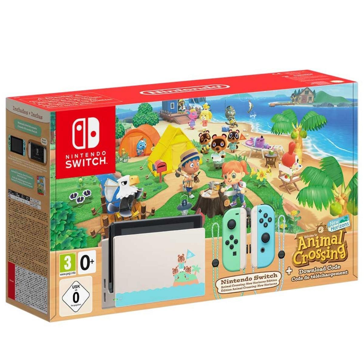 קונסולה Nintendo Swtich Animal Crossing v1.1