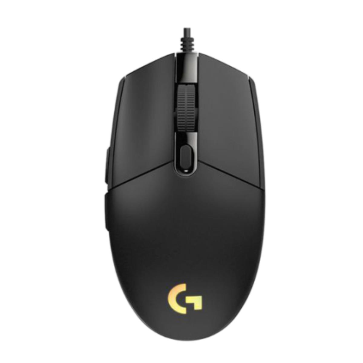 עכבר חוטי שחור - LOGITECH G102 LIGHTSYNC