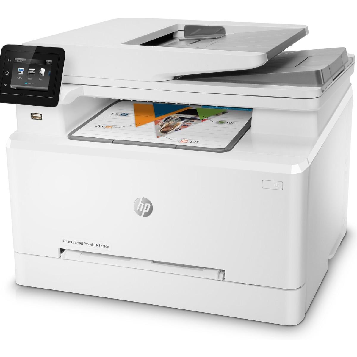 HP Color LaserJet Pro M283fdw מדפסת לייזר