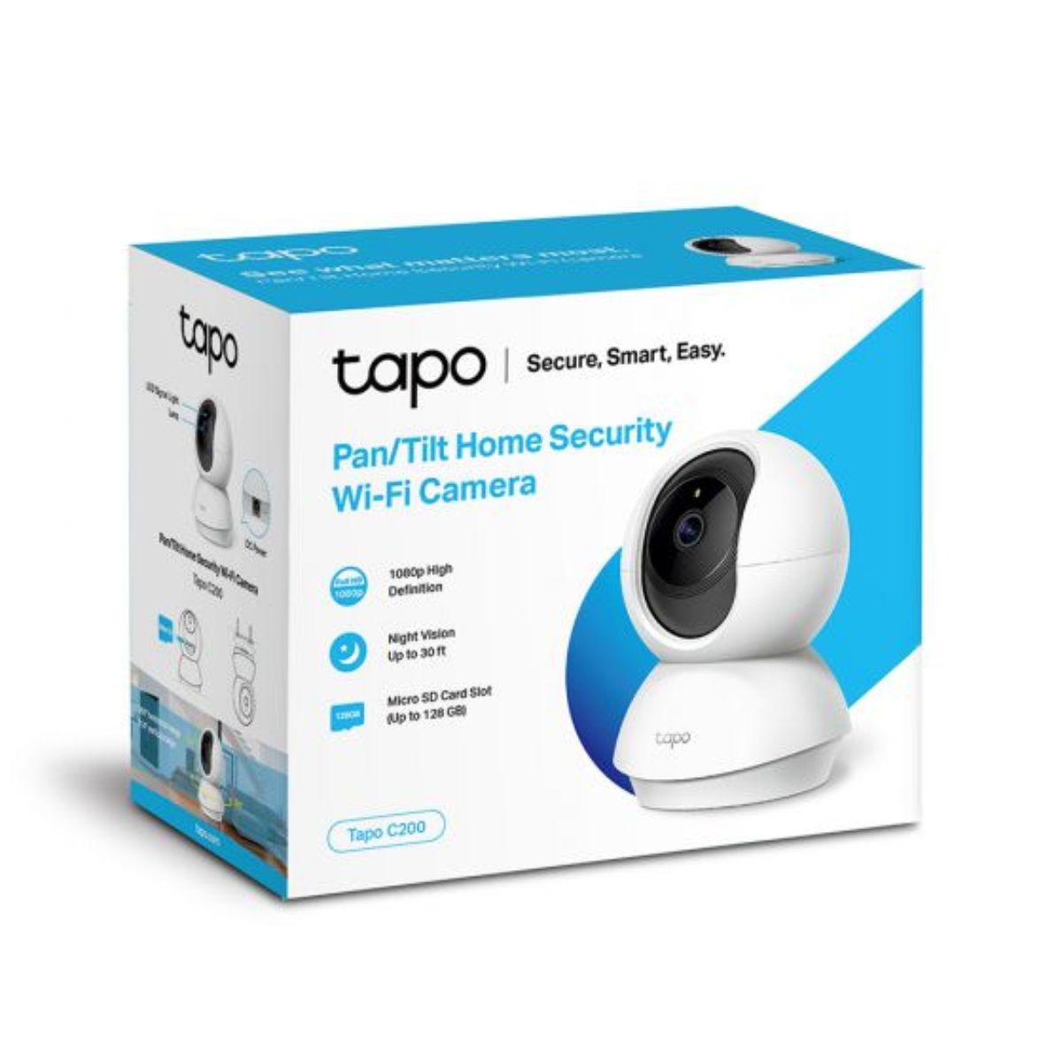 מצלמה אלחוטית מתנייעת Tp-Link C200 Wi-Fi 2MP IP Tapo