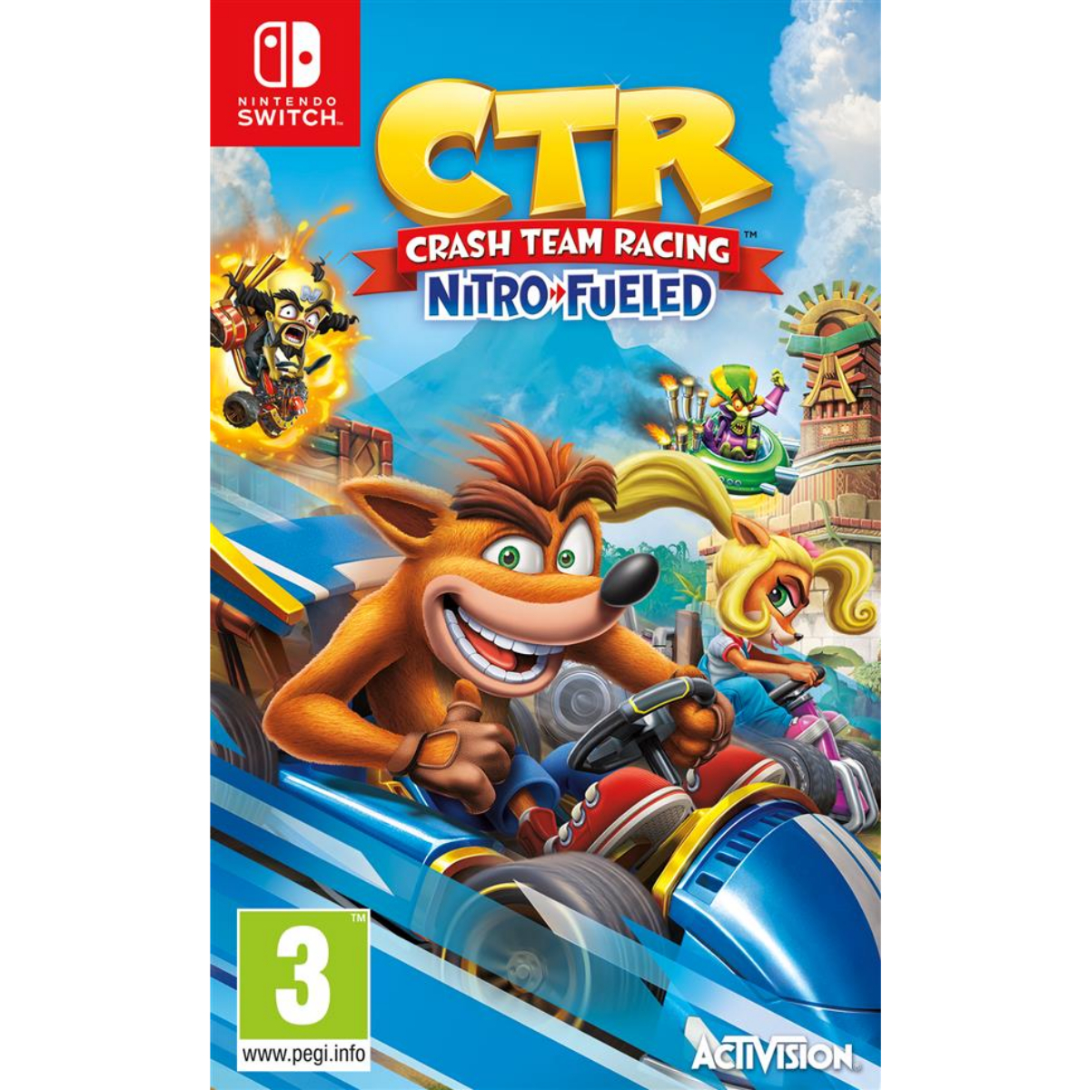 משחק לנינטנדו Crash Team Racing Nitro Fueled