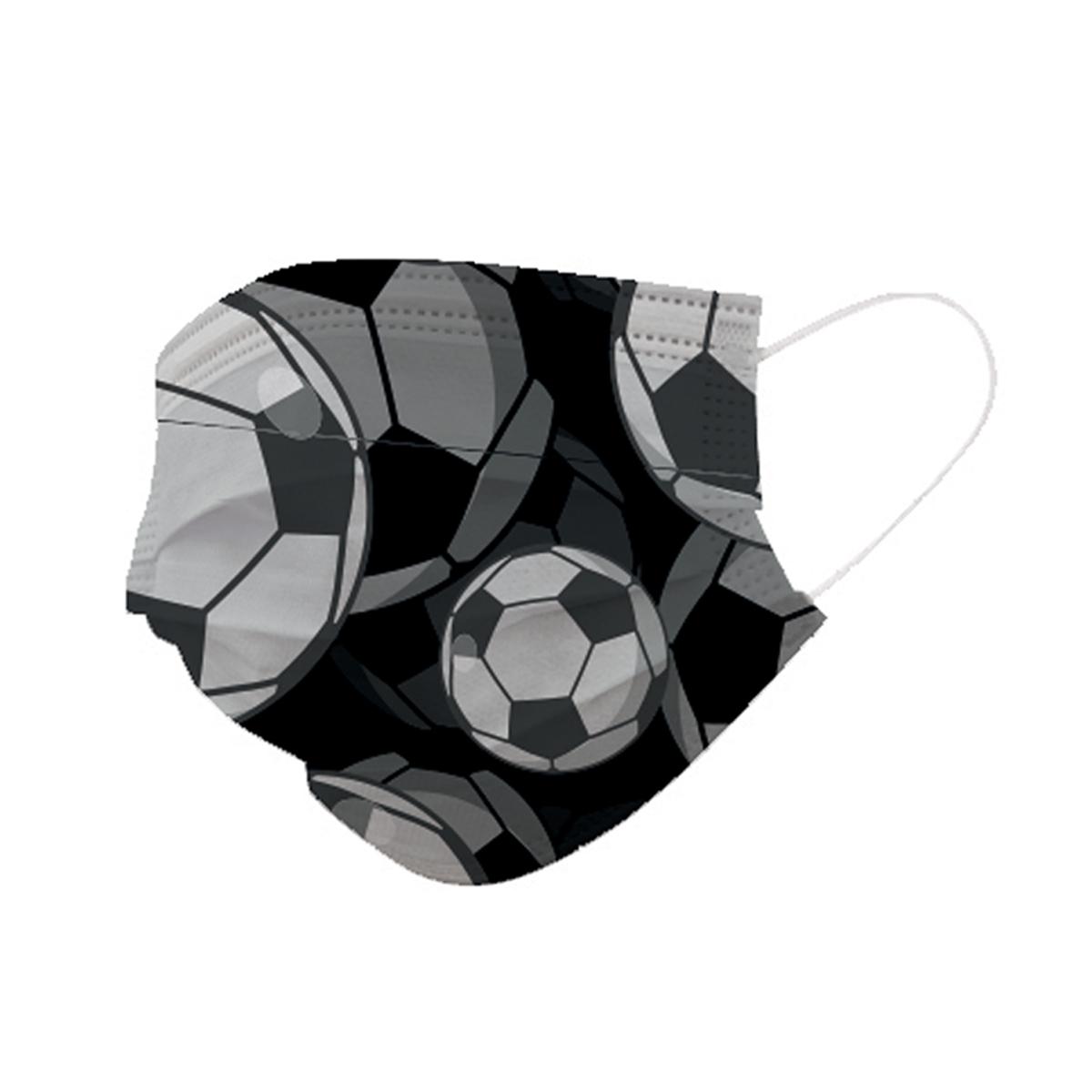 מארז 5 מסכות נשמיות חד פעמיות- כדורגל