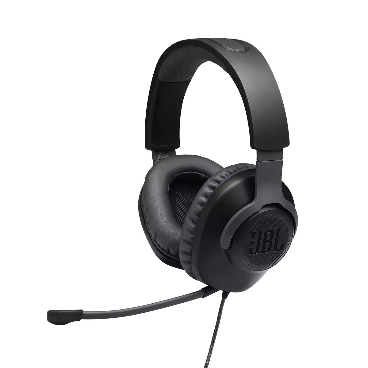 אוזניות גיימינג QUANTUM 100 שחור JBL