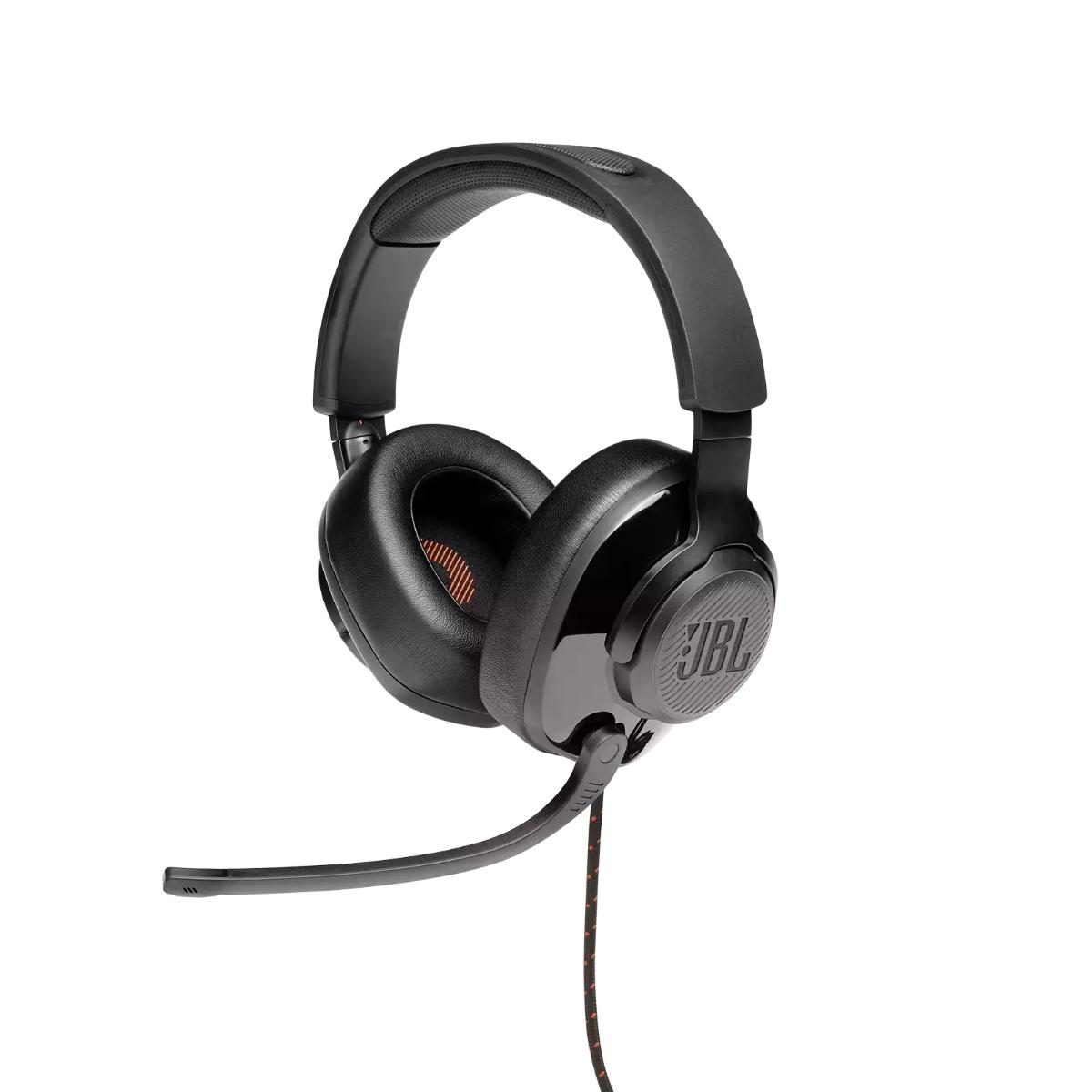 אוזניות גיימינג QUANTUM 200 שחור JBL