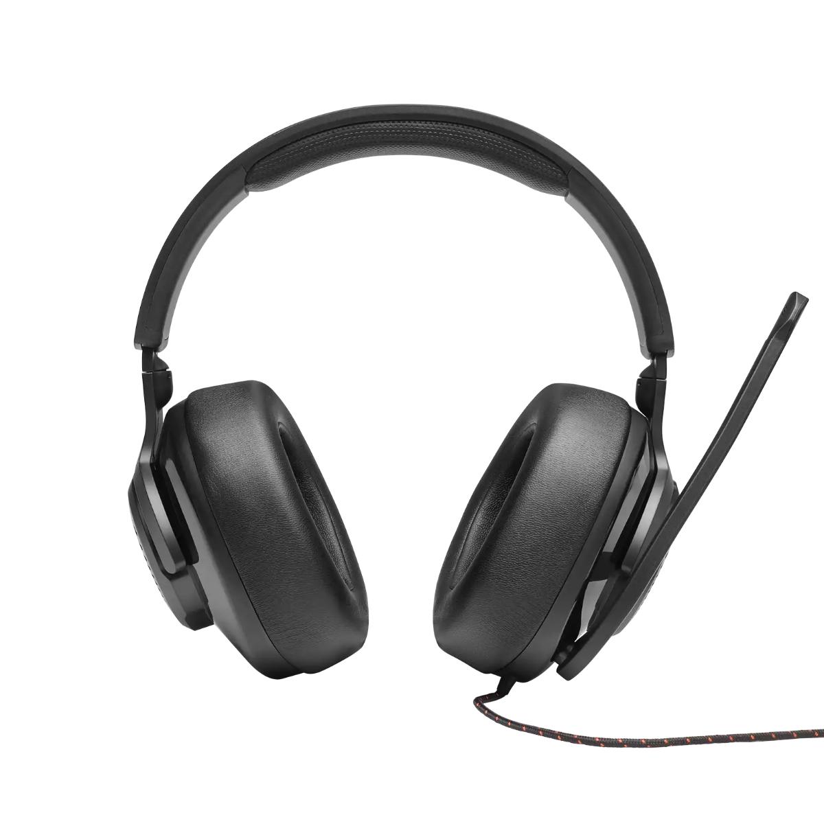 אוזניות גיימינג  QUANTUM 300 שחור JBL
