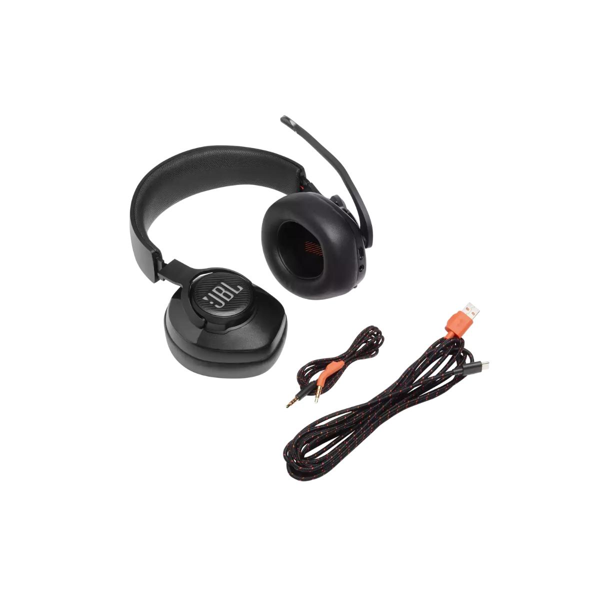אוזניות גיימינג QUANTUM 400 שחור JBL