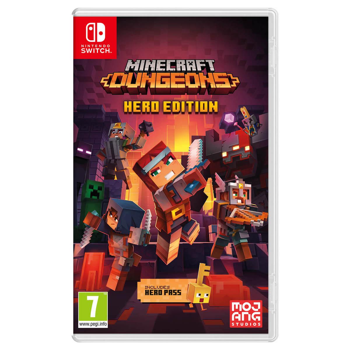 משחק Minecraft Dungeons - Hero Edition