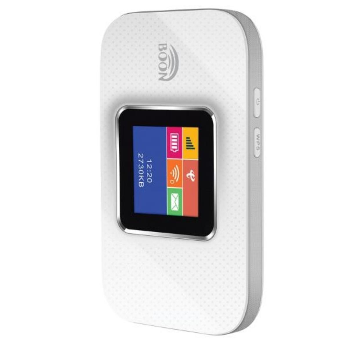 נתב נייד Boon MI-FI 4G 2100MAH