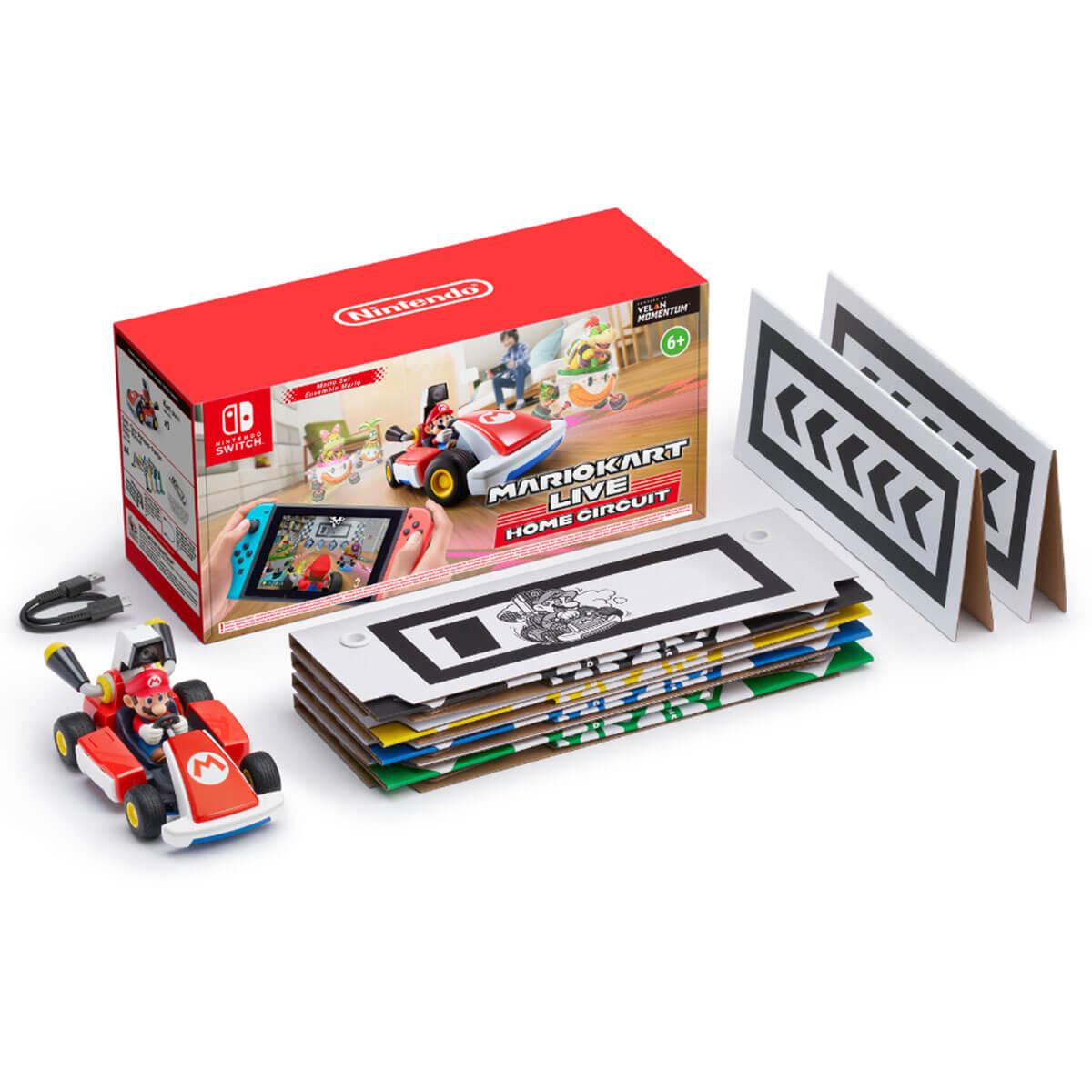 ערכת אביזרים Mario Kart Live Home Circuit Mario Nintendo