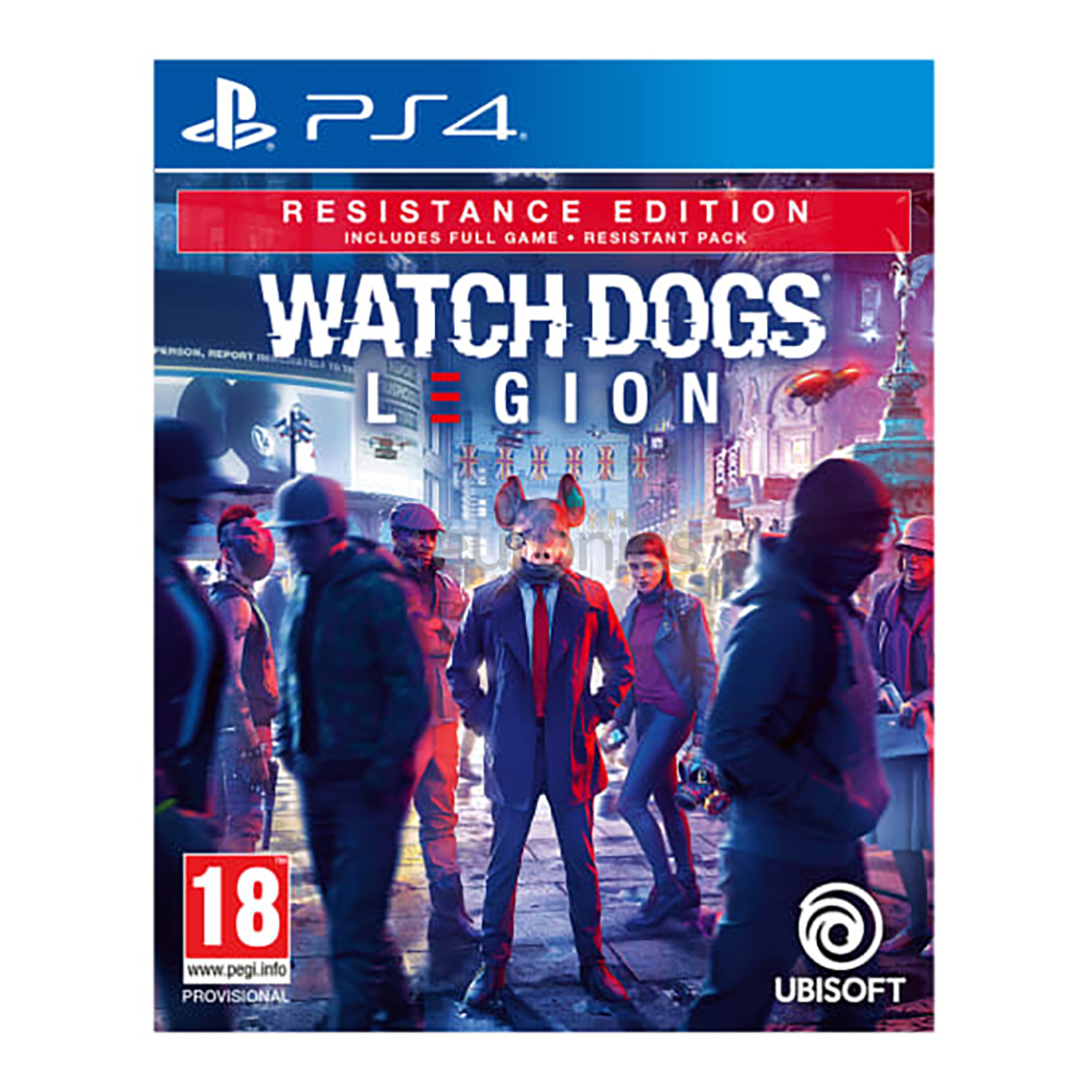 משחק PS4- Watch Dogs Legion Resistance Ed