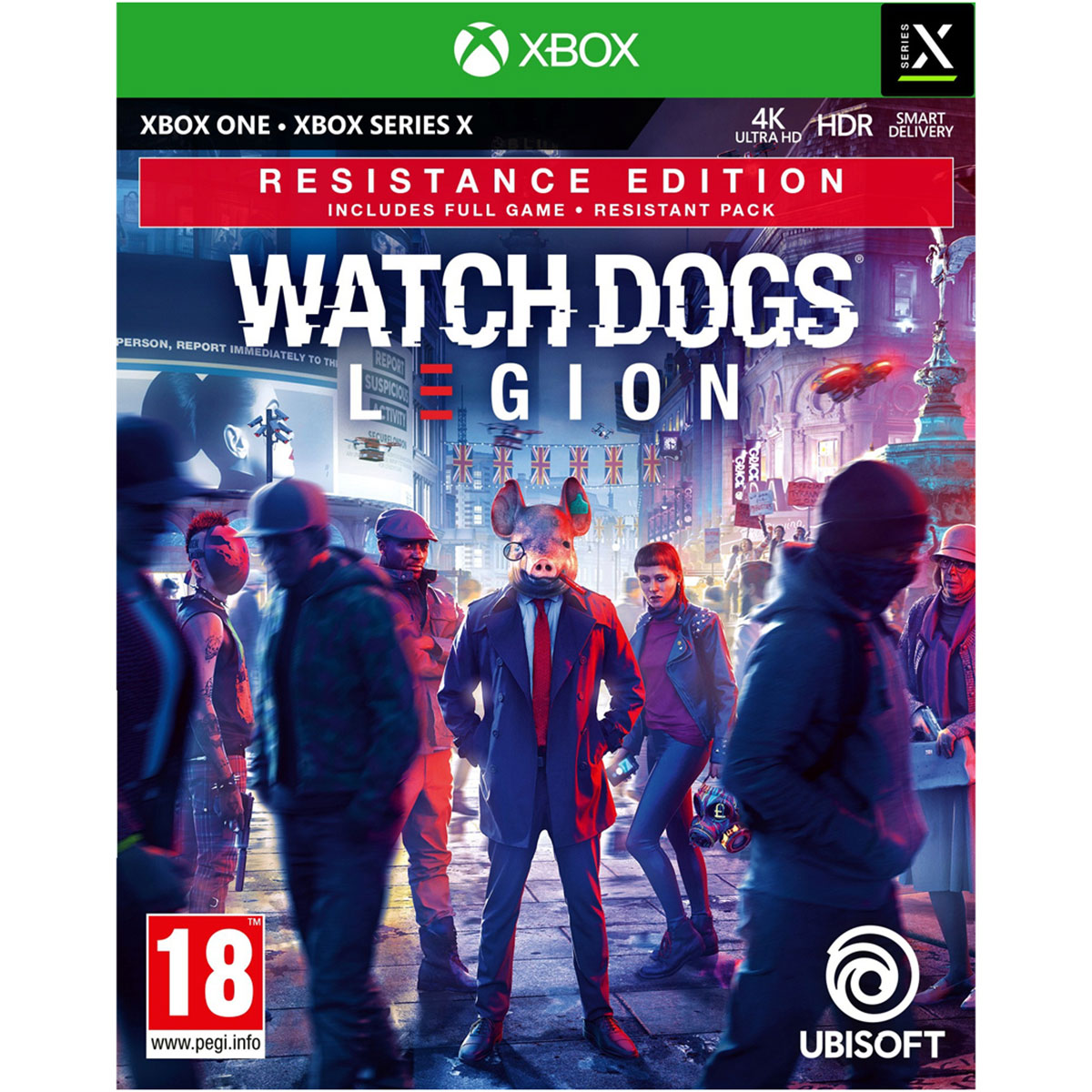 משחק XBOX- Watch Dogs Legion Resistance Ed