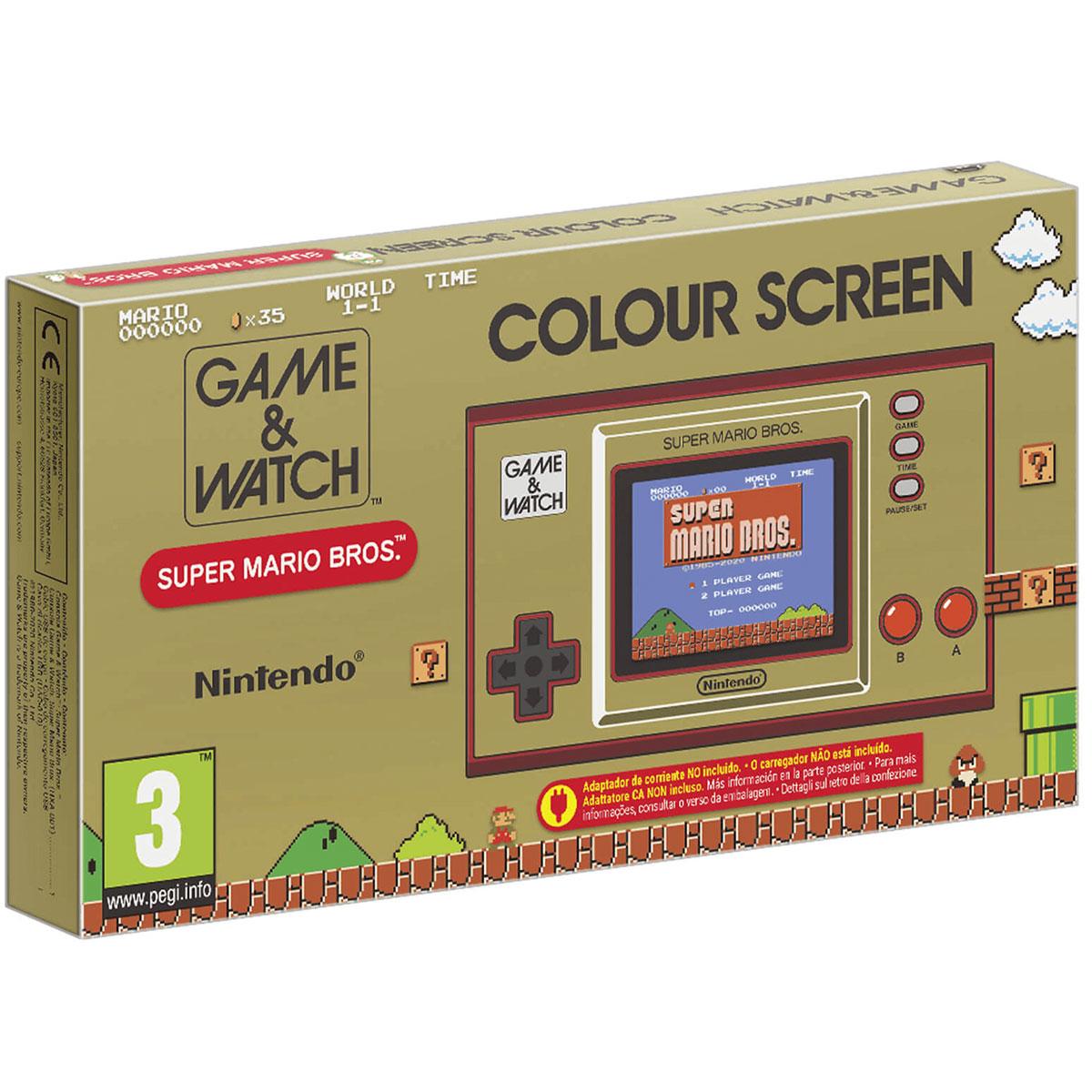 Game & Watch: Super Mario Bros קונסולה רטרו