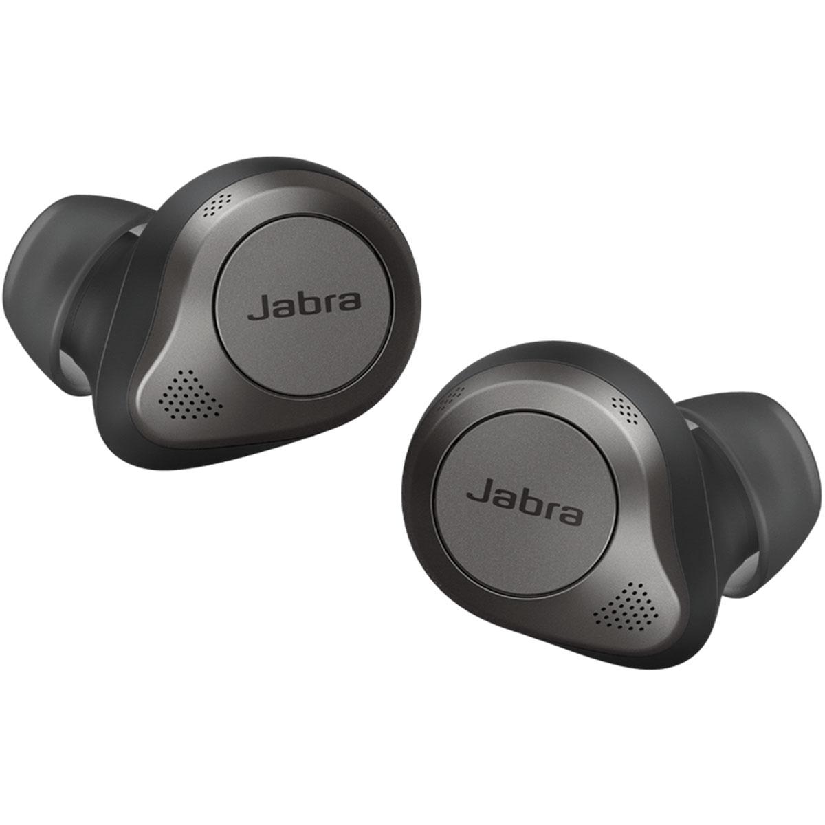 אוזניות Jabra Elite 85T true wireless שחורות
