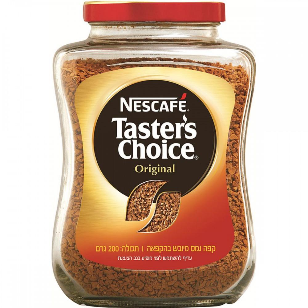 קפה נמס Tasters Choice
