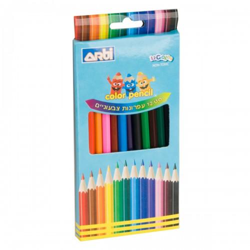 סט 12 עפרונות צבעוניים -ארטי