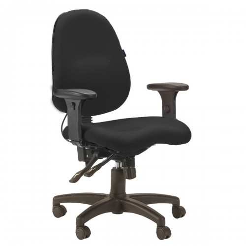 כיסא בזלת שחור